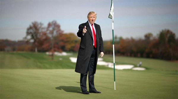 Tổng thống Trump, kỳ nghỉ của Tổng thống Trump, Trump chơi golf