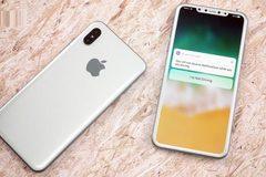 iPhone 8 có thể nhận diện mặt ngay cả khi đặt nằm trên bàn