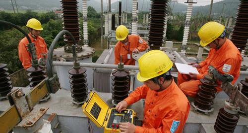 EVN miền Bắc cấp 100% điện phụ tải Samsung Thái Nguyên