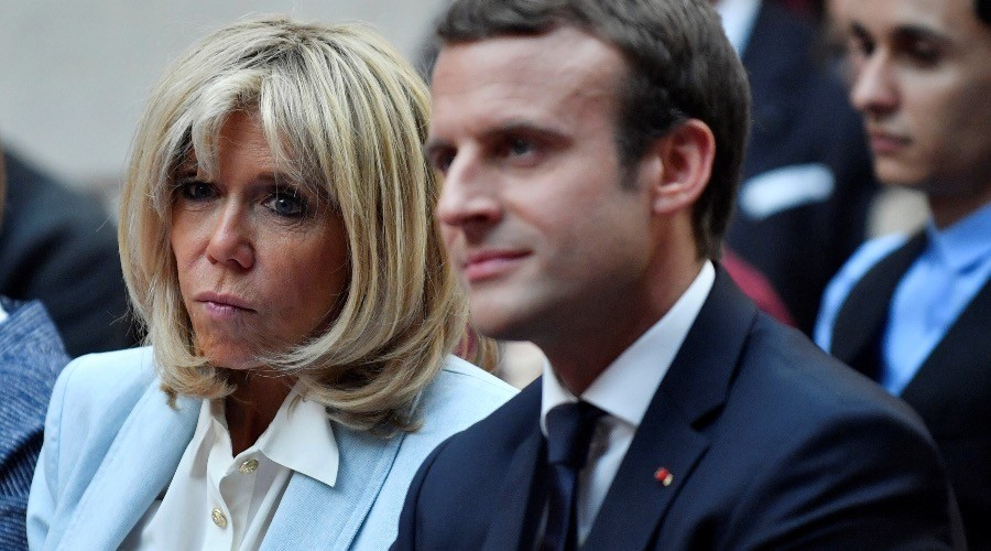 Tổng thống Pháp, Đệ nhất phu nhân, Macron, Brigitte