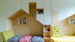 Ý tưởng tuyệt vời làm phòng ngủ đôi cho trẻ gây sốt