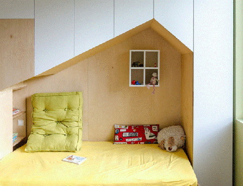 phòng ngủ, phòng ngủ cho bé, thiết kế nhà