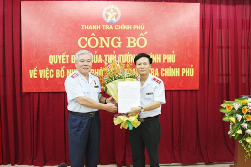 Công bố quyết định bổ nhiệm Phó Tổng thanh tra Chính phủ