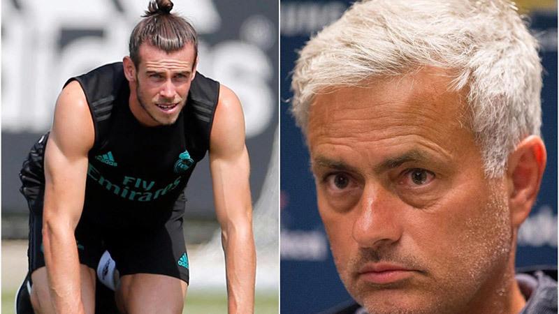 Bale, Gareth Bale, Real Madrid, MU, Mourinho