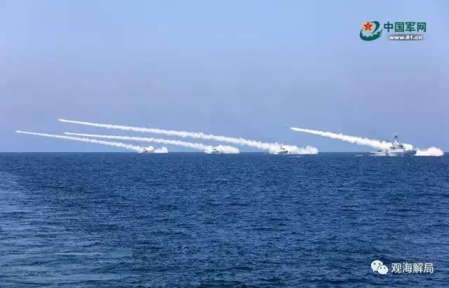 Trung Quốc tập trận ngoài khơi bán đảo Triều Tiên