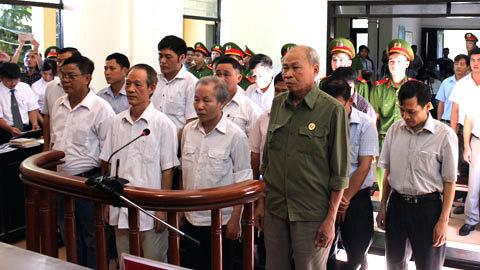 vụ Đồng Tâm,cán bộ xã Đồng Tâm,sai phạm đất đai,Hà Nội