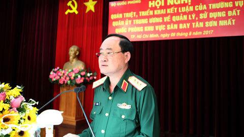 đất quốc phòng,Bộ Quốc phòng,quân đội làm kinh tế,kinh tế quốc phòng,sân bay Tân Sơn Nhất