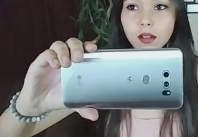 LG V30 bất ngờ bị lộ ảnh thực tế