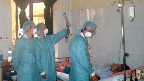 SARS,Nguyên nhân bệnh SARS,Điều trị bệnh SARS