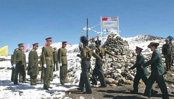 Trung Quốc, Ấn Độ, căng thẳng biên giới, Trung - Ấn, tranh chấp lãnh thổ