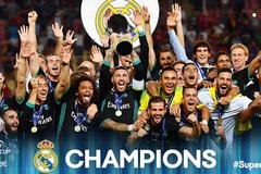 Bóp nghẹt MU, Real xuất sắc đoạt Siêu cúp châu Âu