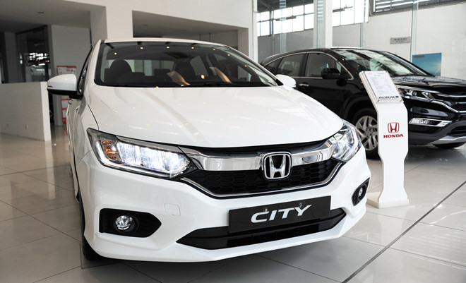 Honda City 2017 phả hơi nóng lên Toyota Vios ở Việt Nam
