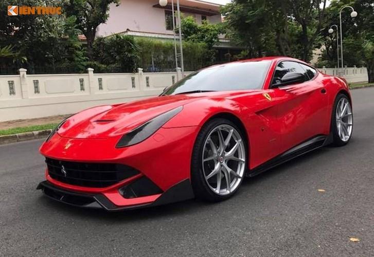 Cường Đô la bán siêu xe Ferrari F12Berlinetta 22 tỷ đồng