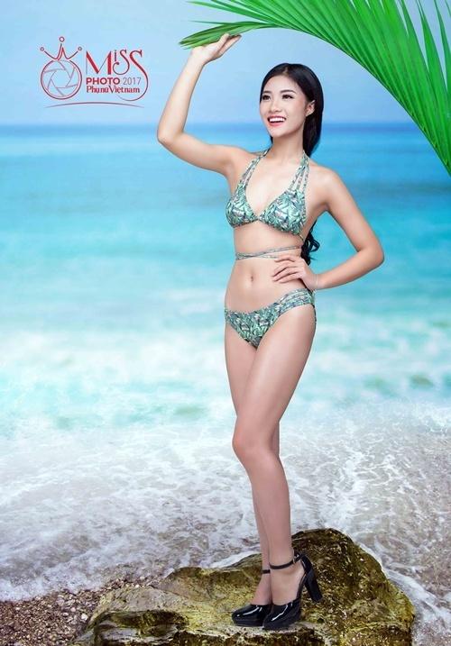 Dàn thí sinh Miss Photo 2017 khoe dáng với bikini