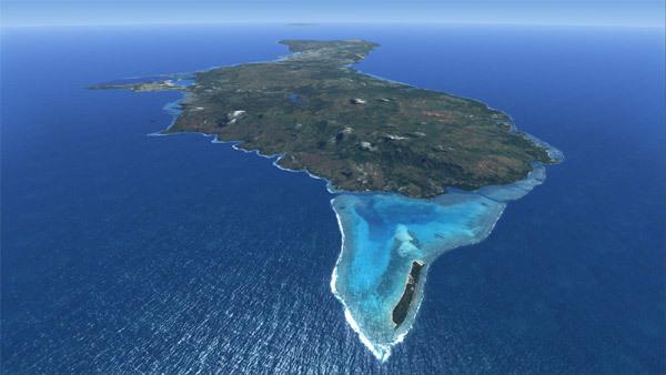 Địa thế vô cùng lợi hại của đảo Guam
