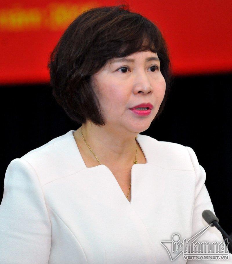 Miễn nhiệm chức Thứ trưởng Công thương với bà Hồ Thị Kim Thoa