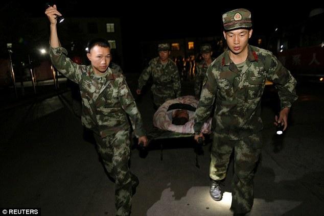 động đất, Tứ Xuyên, Trung Quốc