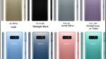 Xuất hiện hàng loạt màu mới đẹp như mơ của Galaxy Note 8