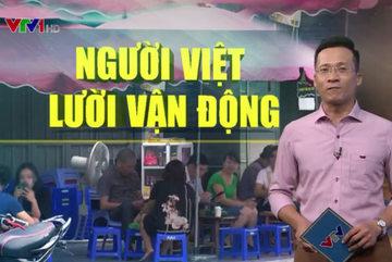 Người Việt Nam thuộc top 10 nước lười vận động nhất thế giới
