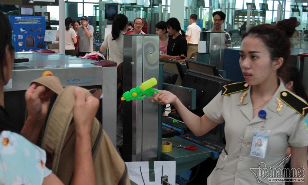 Những món hàng cấm, không bao giờ được lên máy bay