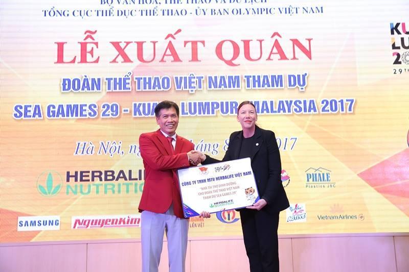 Đoàn TTVN, thể thao Việt Nam, lễ xuất quân đoàn TTVN