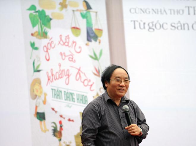 Hội sách, sách mới, Trần Đăng Khoa