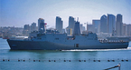 Uy lực tàu đổ bộ khổng lồ của Mỹ vừa ghé cảng Cam Ranh
