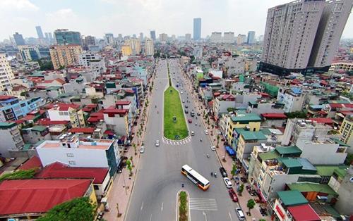 Tuyến đường Thái Hà - Voi Phục tác động mạnh tới BĐS