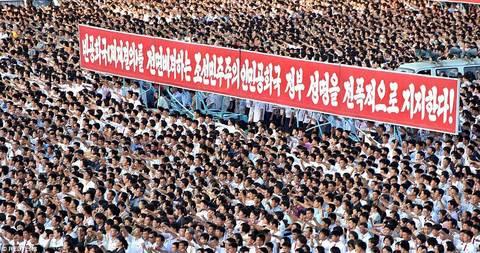 Hàng vạn người Triều Tiên mít tinh thách thức Mỹ