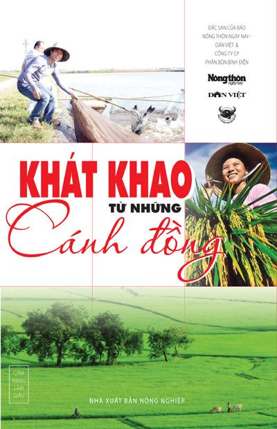 Ra mắt sách 'Khát khao từ những cánh đồng'