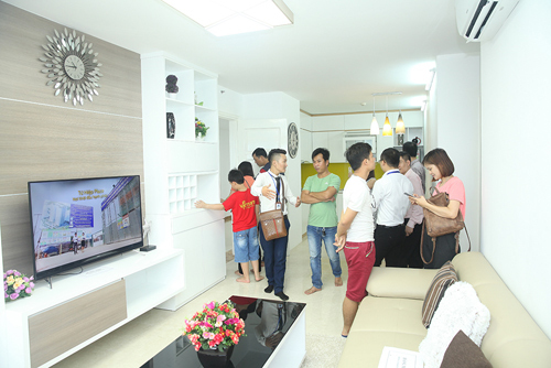 Cơ hội cho gia đình trẻ chọn căn hộ đã hình thành