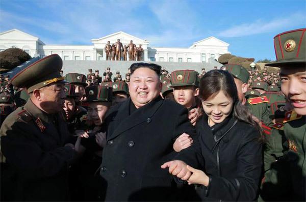 Kim Jong Un, con gái Kim Jong Un