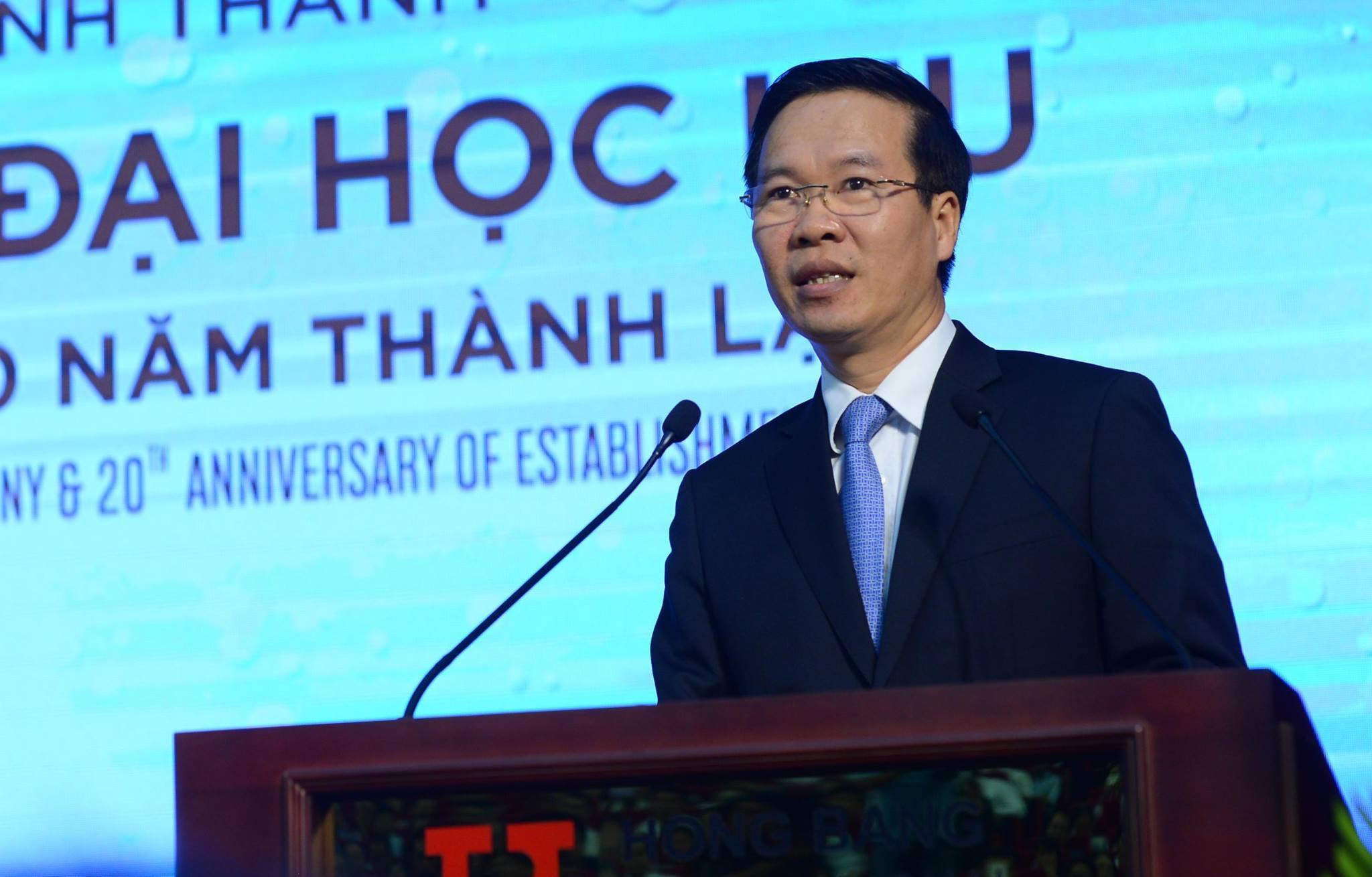 Ông Võ Văn Thưởng: 'Đại học quốc tế không chỉ ở quốc tịch giảng viên, sinh viên'