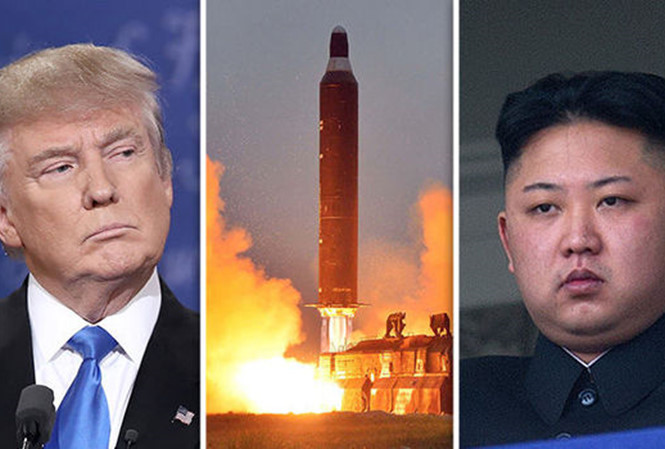 Triều Tiên, Nước Mỹ, Donald Trump, Vũ khí hạt nhân, THAAD