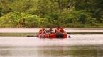 Câu cá, phát hiện thi thể thanh niên nổi giữa hồ thủy điện