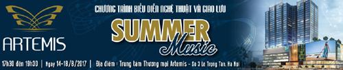 Tiệc âm nhạc cực chất ở Trung tâm thương mại Artemis