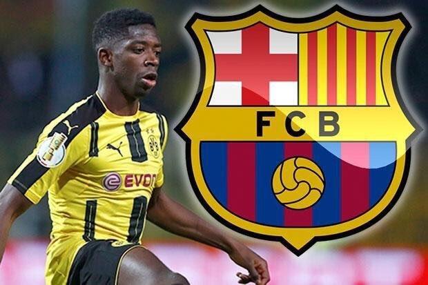 Nóng chuyển nhượng MU, Dembele bay sang ký Barcelona