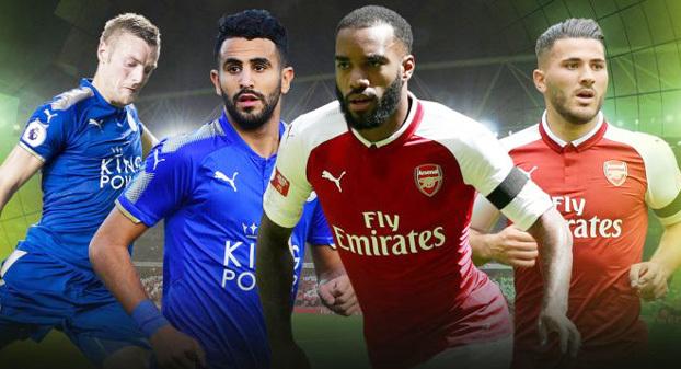 Arsenal, Leicester, vòng 1 Premier League