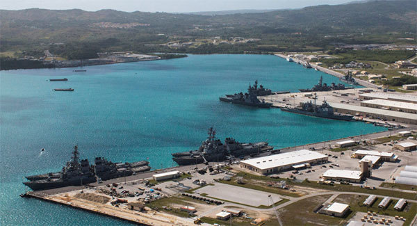 Guam, tên lửa Triều Tiên, căng thẳng Triều Tiên, tấn công