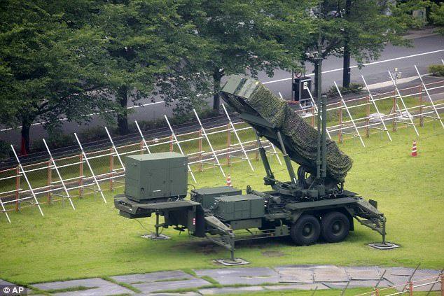 Triều Tiên, Nhật Bản, tên lửa, đảo Guam