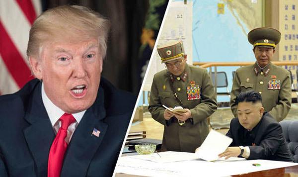 Mỹ, khủng hoảng Triều Tiên, tên lửa Triều Tiên, máy bay ném bom Mỹ