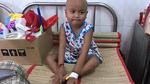 Cô bé hồn nhiên mang trong mình hai căn bệnh hiểm nghèo