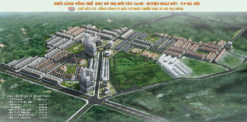 quy hoạch đô thị, khu đô thị Vân Canh, điều chỉnh quy hoạch, tăng dân số, HUD, cổ phần hóa, Bộ Xây dựng