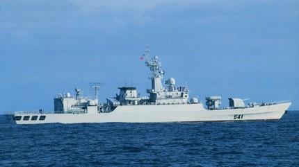 Mỹ đưa tàu chiến vào sát đảo nhân tạo TQ xây trái phép