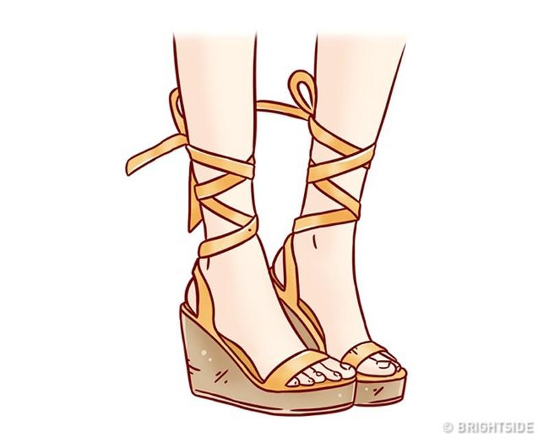 10 sai lầm chọn giày dép mùa hè có thể ảnh hưởng sức khỏe