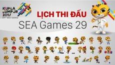 Xem trực tiếp các môn tại SEA Games 29 ở đâu?