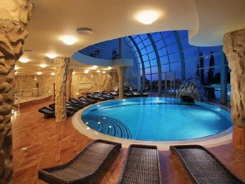 bể bơi, xây nhà, nắng nóng
