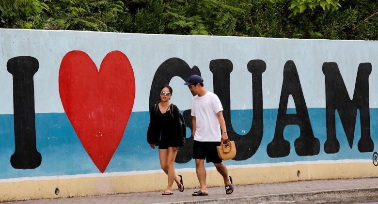đảo Guam, Triều Tiên, du khách, tấn công tên lửa