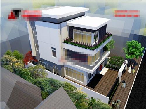 nhà đẹp, thiết kế nhà, nhà 3 tầng