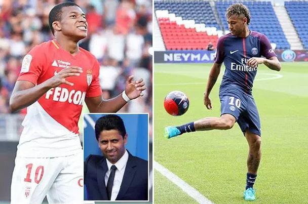 Mbappe, PSG, Neymar, Real